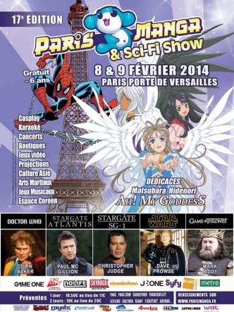 Affiche Paris Manga & Sci-Fi Show 2014