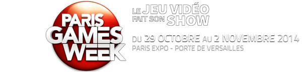 Titre Paris Games Week 2014