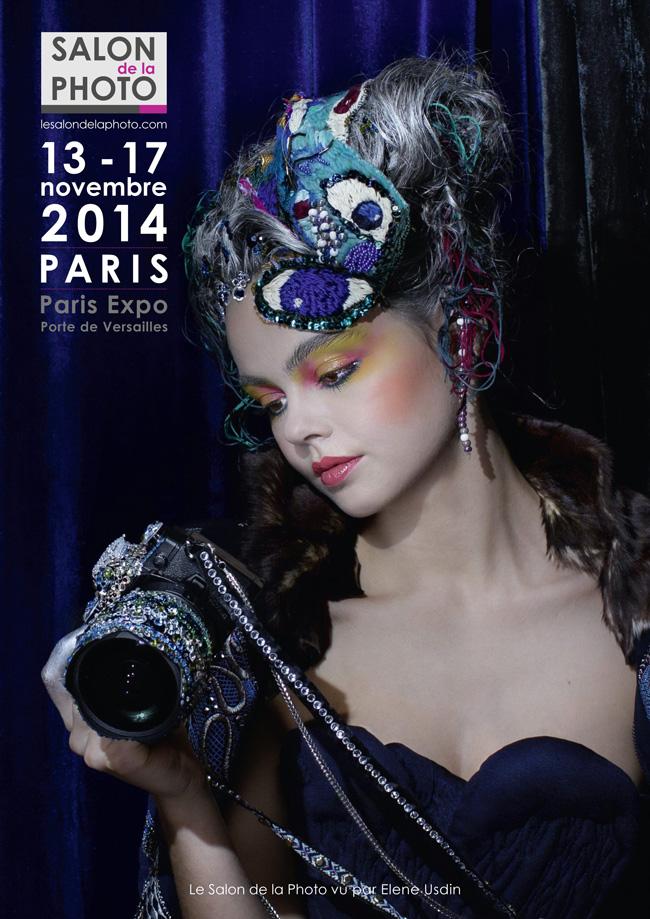 Affiche Salon de la Photo PARIS 2014