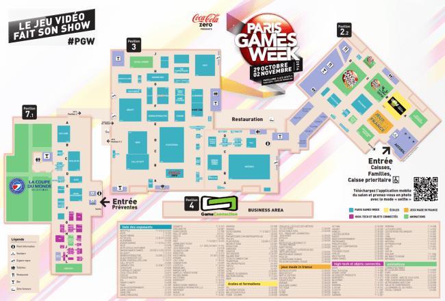 Plan Paris Games Week 2014