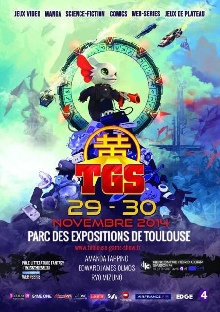 Affiche Toulouse Games Show 2014