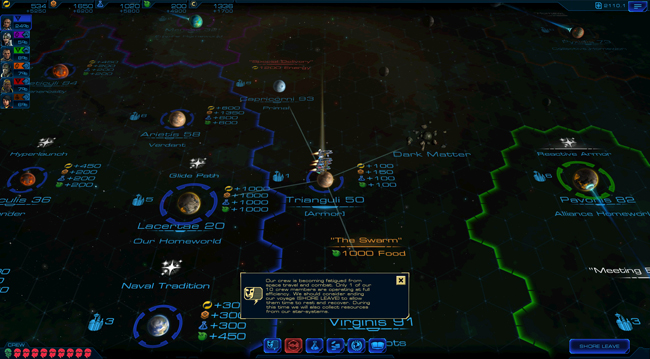 Sid Meier's Starships : Screenshot Stratégie