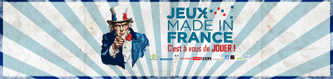 """Paris Games Week : Stand """"Jeux Made in France"""""""