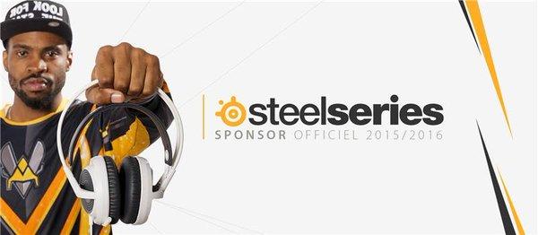 SteelSeries : Sponsors officiel des Vitality
