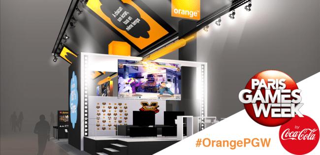 Paris Games Week 2015 : Stand #OrangePGW