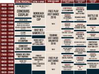 Bordeaux Geek Festival 2016 : Planning du 15 mai
