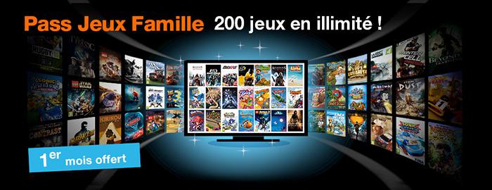 Orange : Pass Jeux Famille