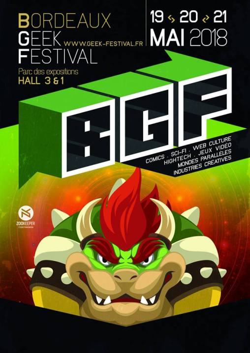 Bordeaux Geek Festival 2018