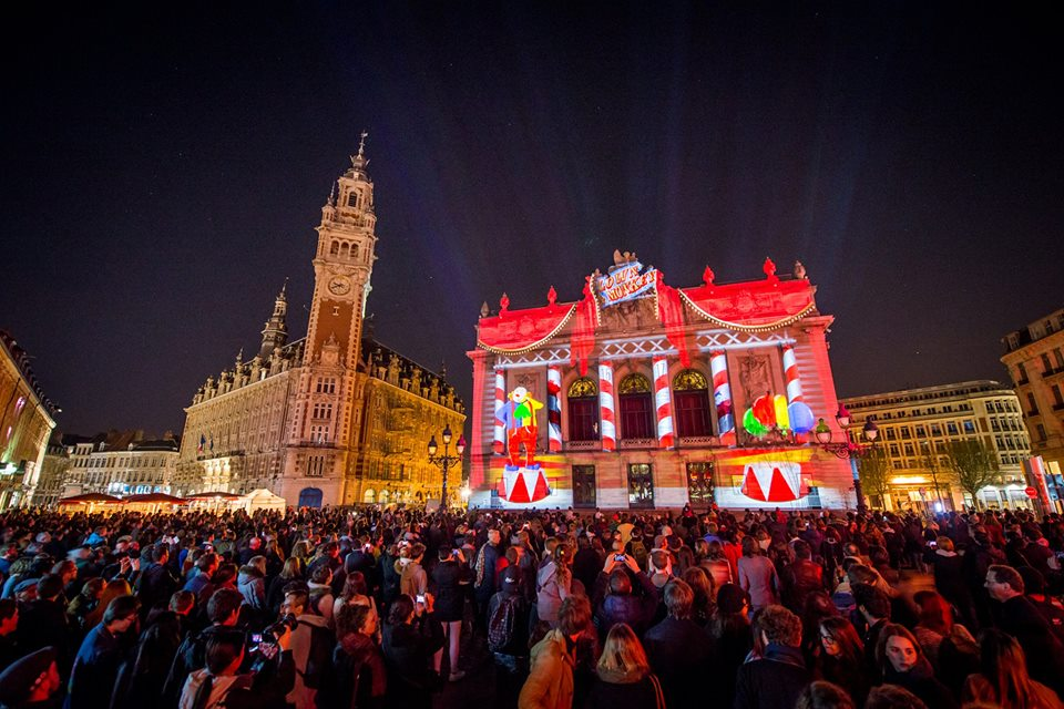 Video Mapping Festival : Beffroi de Lille