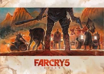 Far Cry Geek-Art : Ronan Toulhoat (France)
