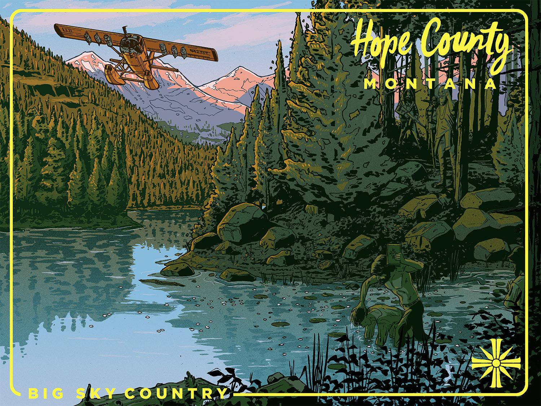 Far Cry Geek-Art : Laurie Greasley (UK)