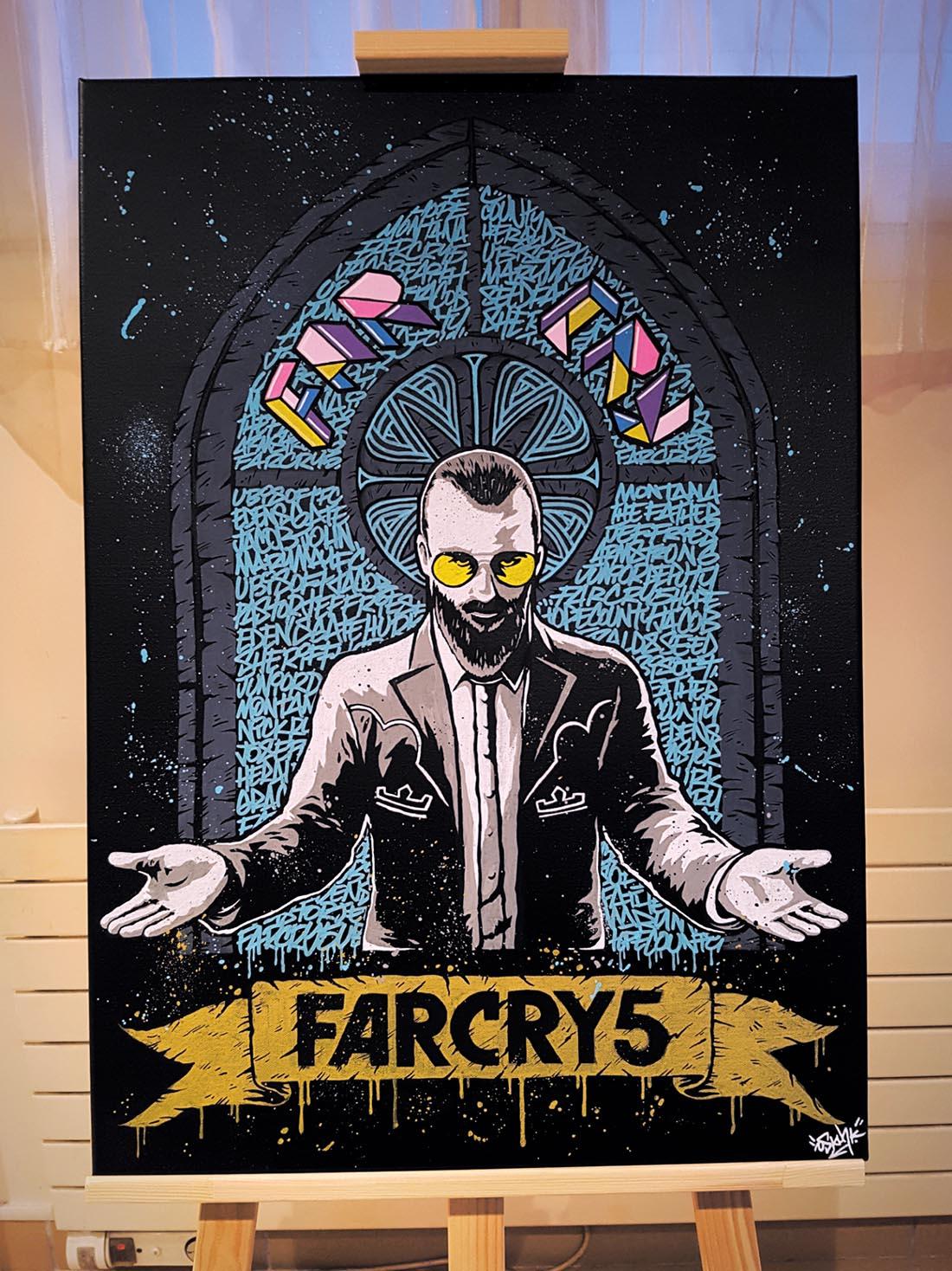 Far Cry Geek-Art : Oskunk (France)