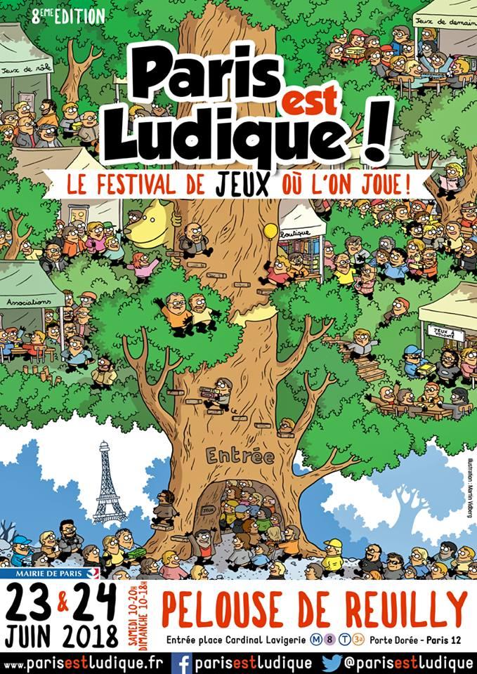 """Festival """"Paris est Ludique"""" 2018"""