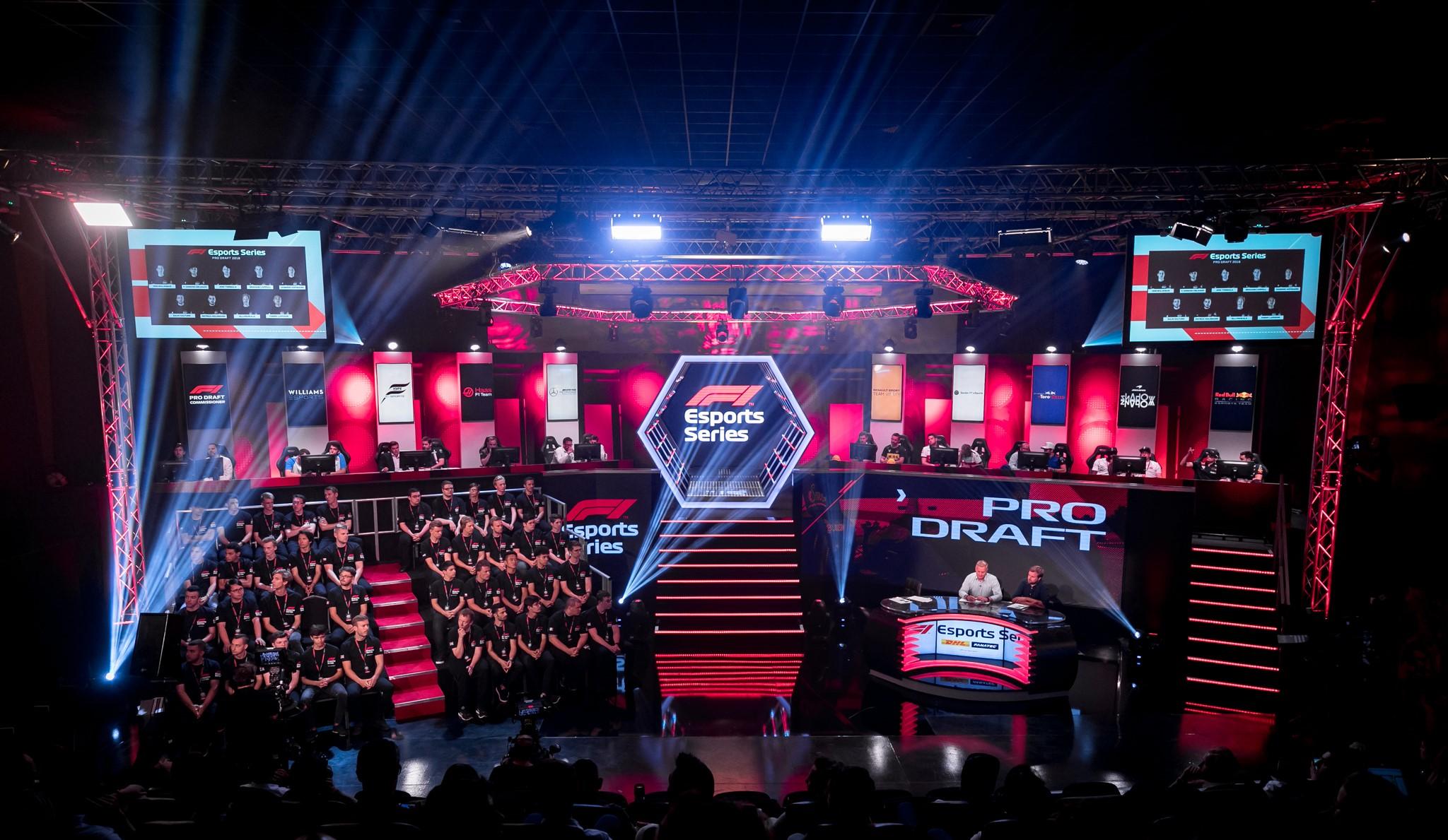 F1 Esports 2018 Draft - Gfinity Arena