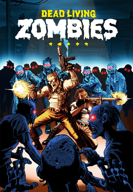 """Far Cry 5 """"Dead Living Zombies"""" Artwork"""