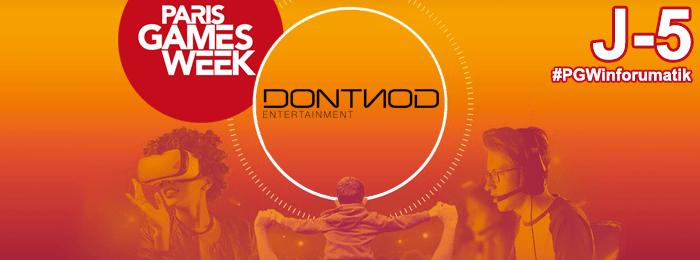 Paris Games Week 2018 : DONTNOD Entertainment