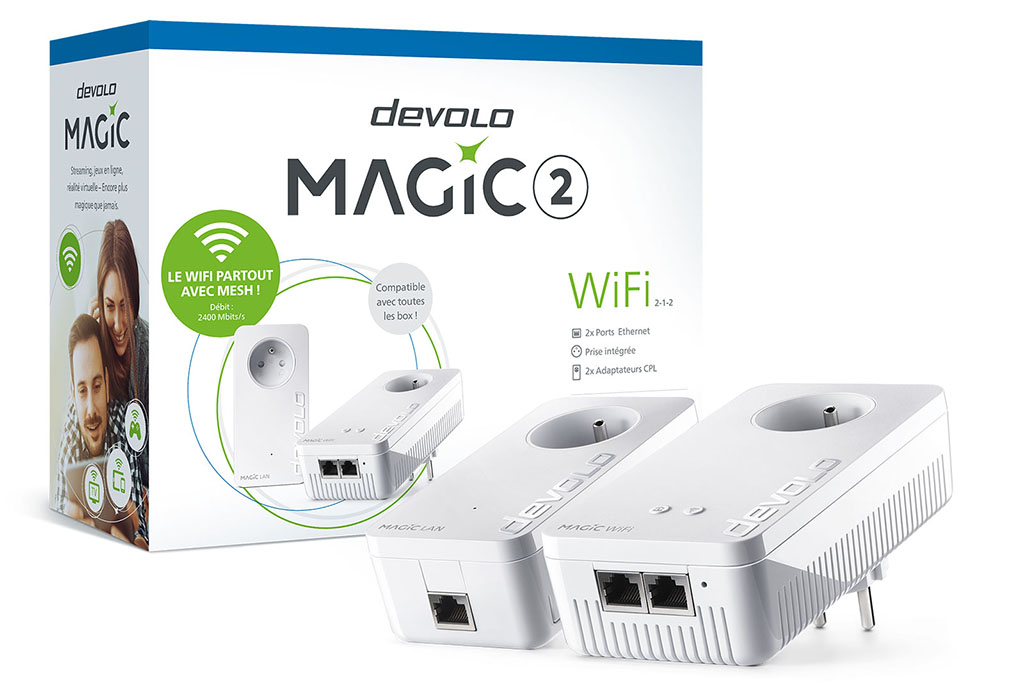 Kit de démarrage devolo Magic 2 WiFi