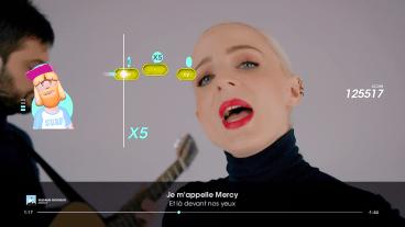 """Let's Sing 2019 : Screenshot """"Merci"""""""