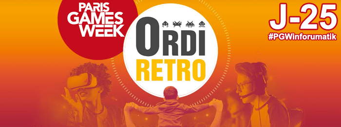 Paris Games Week 2018 : Ordi Retro