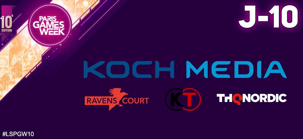 Paris Games Week 2019 : Koch Média & Friends