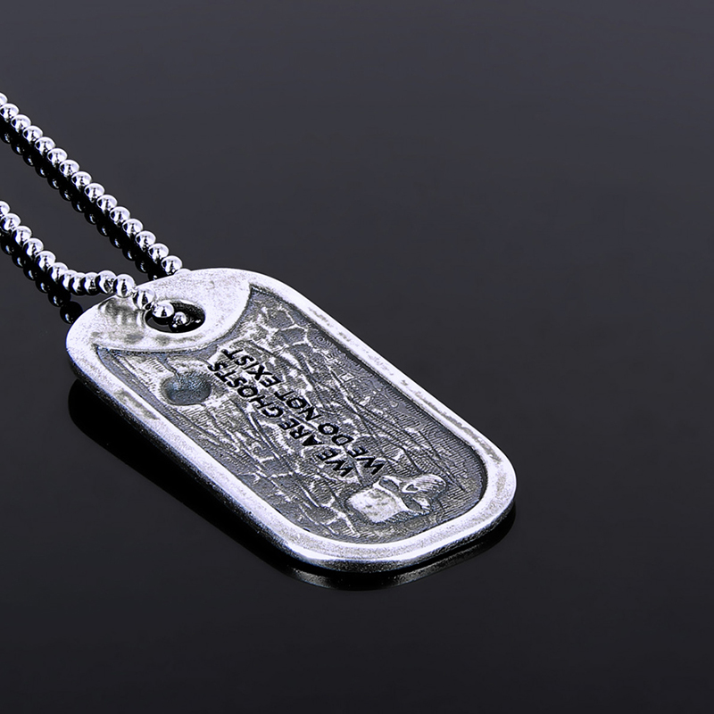 """Dog Tag """"The Lucky Ghost"""" officiel Ghost Recon Breakpoint Edition Limité"""