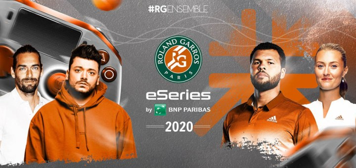 "Roland-Garros eSeries ""Charity Exhibition"" by BNP Paribas 2020"