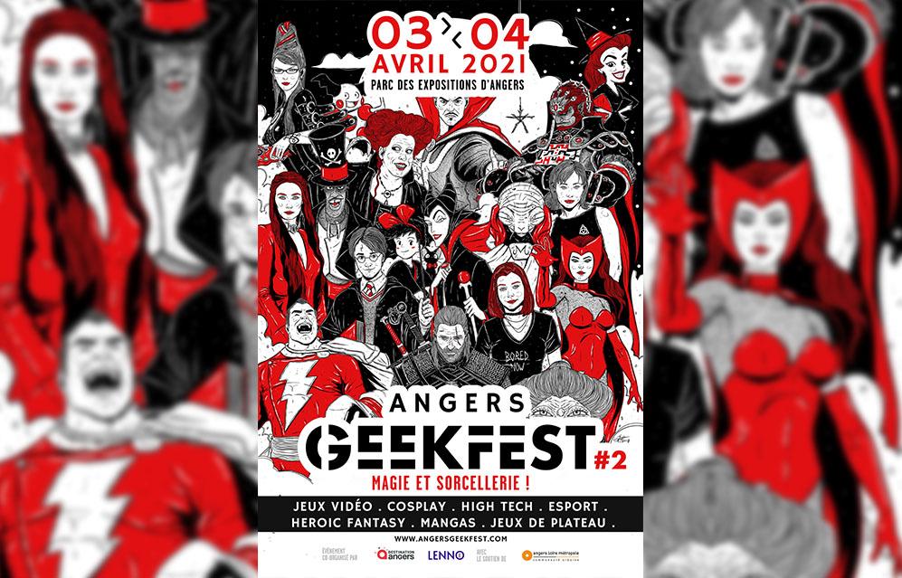 Angers Geekfest 2021 : Magie et Sorcellerie