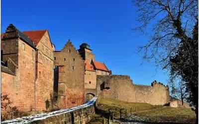 Burgen im Odenwald