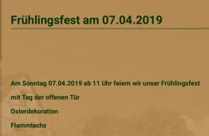 Frühlingsfest @ In's Scholze