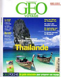 """Géo consacre un hors-série aux """"Trésors de la Thaïlande"""""""