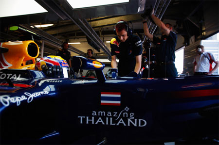 Formule 1 : Red Bull Racing aux couleurs de la Thaïlande !