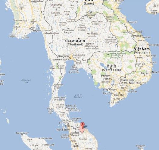 Six blessés dans un nouvel attentat à Narathiwat