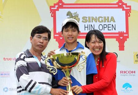 Un Thaïlandais de 14 ans recordman de précocité en golf