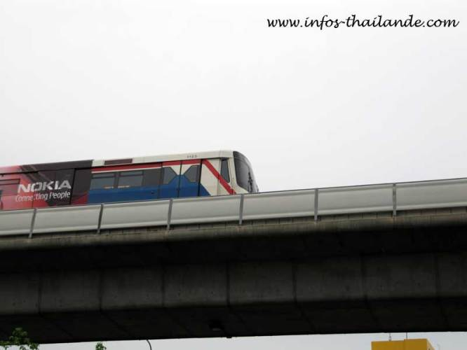 Le BTS va rallier les aéroports de Suvarnabhumi, Don Mueang et U-Tapao
