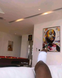Info-Culture : Le chanteur Davido victime d'un accident 2