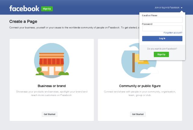 halaman create a page