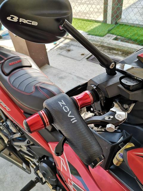 Pengunci handlebar motor ZOVII