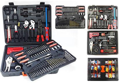 550 pcs tool kit set untuk lelaki