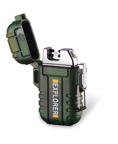 lighter elektronik jenama explorer kalis air sebagai hadiah