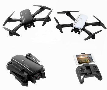 Folding flight Quadcopter drone murah malaysia
