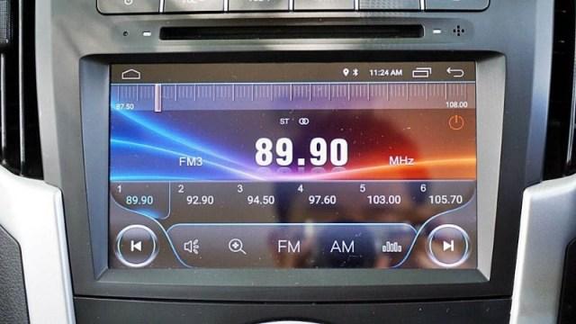 dalaman isuzu dmax 2020 touchscreen