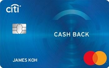 Citi Cash Back Platinum Mastercard