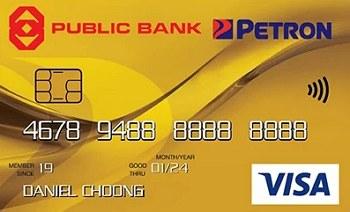 Public Bank Petron Visa Gold