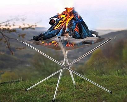 portable camp fire pit