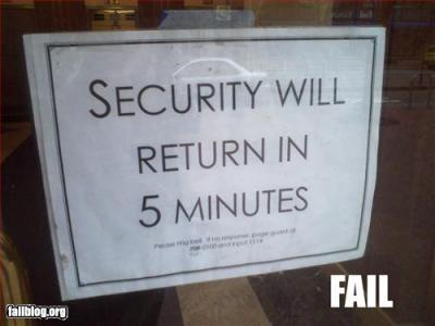 Image result for it security fail images
