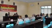 Silaturrahim Bersama KBPPP, Kapolres Satria Gelar Coffee Morning,