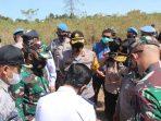 Wakapolda Hadiri Peninjauan Lokasi Jalur Kereta Api di Kabupaten Maros