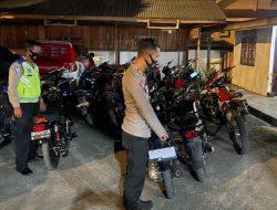 Bising, Puluhan Pengguna Knalpot Brong Terjaring Operasi Yustisi