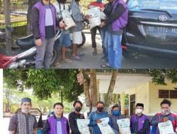 Terus Peduli, PT An-Nur Maarif Bagikan Ratusan Paket Sembako ke Warga