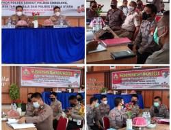 Operasi Patuh 2021 Berakhir, Tim Itwasda Lakukan Audit di Polres Sidrap